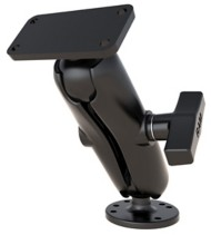 RAM Drill-Down Double Ball Mount for Humminbird Helix 5