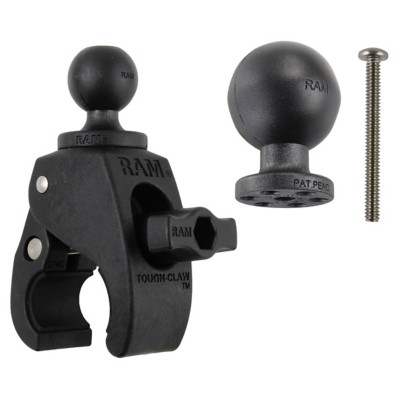 "RAM Small Tough-Claw™ with 1.5"" & 1"" Diameter Rubber Balls"