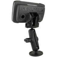 RAM B-Size Double Ball Mount for Lowrance Hook² Series