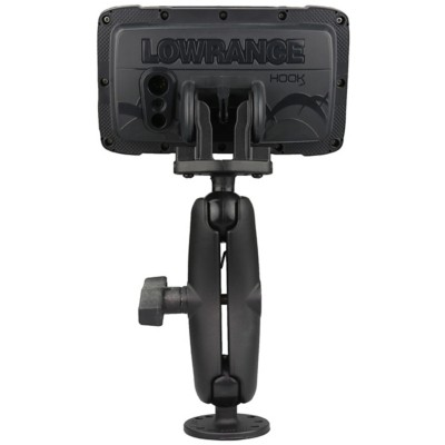 RAM C-Size Double Ball Mount for Lowrance Hook² Series