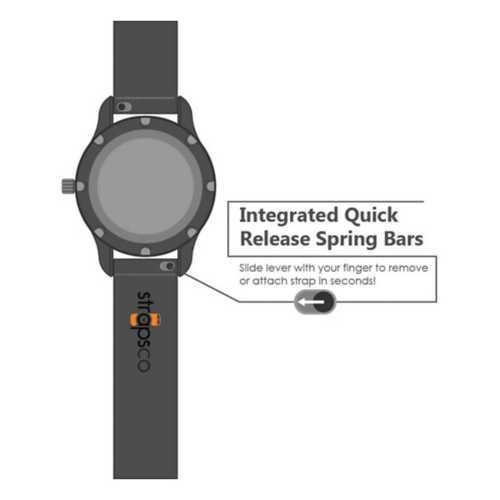 Strapsco Fitbit Versa Silicone Band