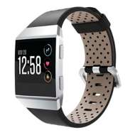 Strapsco Fitbit Ionic Leather Strap