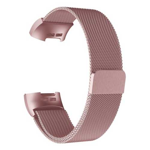 Strapsco Milanese Strap for Fitbit Charge 3
