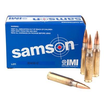 IMI Samson Ammo 7.62 NATO 150gr FMJ 50/bx