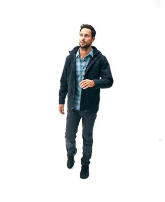 Men's Royal Robbins Thermotech Ren Plaid Long Sleeve Shirt