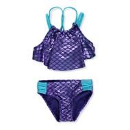 Preschool Girls' Breaking Waves Mermaid Magic 2 Piece Bikini Set