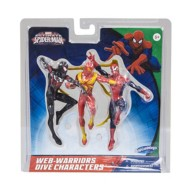 Swimways Marvel Spider-Man Web Warriors Dive Characters (3-Pack)
