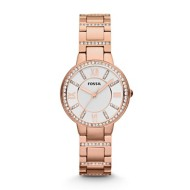 Women's Fossil Virginia Rose-Tone Watch