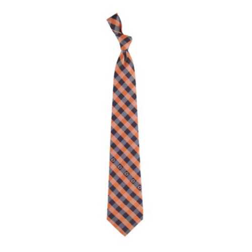 Eagles Wings Chicago Bears Check Tie