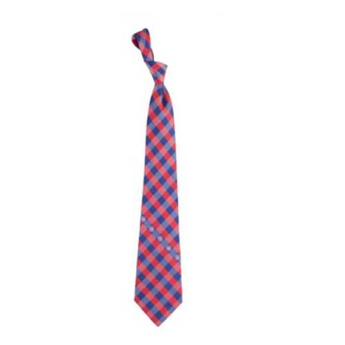 Eagles Wings Chicago Cubs Check Tie