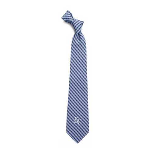 Eagles Wings Kansas City Royals Gingham Tie