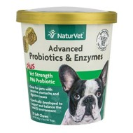 NaturVet Advanced Probiotics and Enzymes Soft Pet Chews