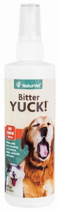 NaturVet Bitter Yuck! No Chew Spray