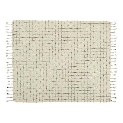 Nourison Life Styles Distressed Throw Blanket