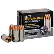 Sig Elite Performance 357 Sig 125gr V-Crown JHP 20/bx