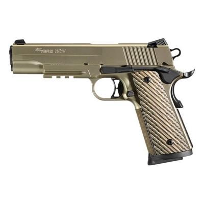SIG 1911 Nickel Rail Full-Size 45 ACP Handgun