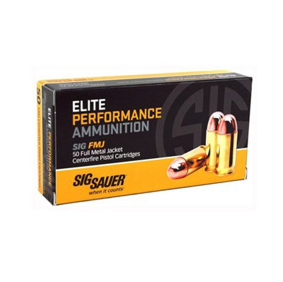 Sig Elite Performance 45 ACP 230gr FMJ 50/bx