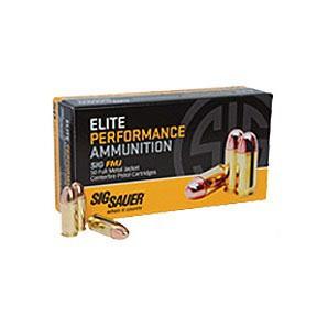 Sig Elite Performance 357 Sig 125gr FMJ 50/bx