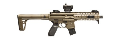 SIG MPX ASP .177 Caliber CO2 Rifle with Red Dot Scope