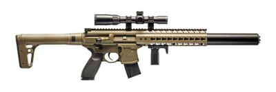 SIG MCX ASP .177 Caliber CO2 Rifle with 1-4x24 Scope