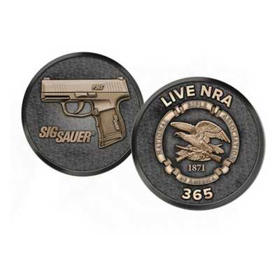 Sig Sauer P365 Nitron Micro-Compact 9mm Pistol NRA Edition