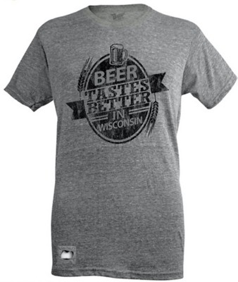 Men's Brew City WI Counties T-Shirt