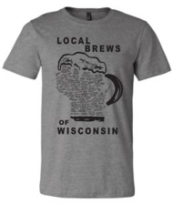 Men's Brew City Local Brews Of Wisconsin T-Shirt