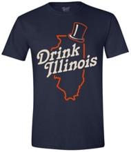 Men's Brew City Drink Iillinois T-Shirt
