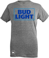 Mens Brew City Bud Light Pop Top T-Shirt