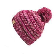 Youth Girls' C.C Four-Tone Pom Beanie