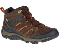 Men's Merrell Outmost Mid Ventilator Waterproof Hiking Boots