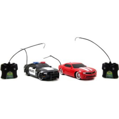 Jada HyperChargers 1:16 Scale Heat Chase Twin Pack
