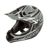 Youth Raider MX-II Grey and Black Helmet