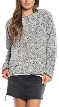 Women's dylan Drop Shoulder Crew Sweatshirt
