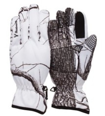 Men's Huntworth Tri-Laminate Snow Camo Shooting Gloves
