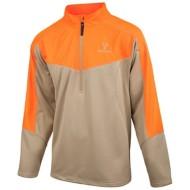 Men's Huntworth Mid-Weight Blaze Orange 1/4 Zip