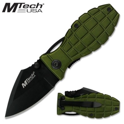 Master Cutlery Grenade Tactical Folding Knife