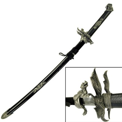 Master Cutlery Fire Of God Samurai Sword