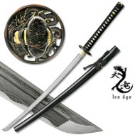 Master Cutlery Ten Ryu Hand Forged Samurai Sword