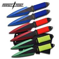 Master Cutlery Perfect Point Throwing Knife Set