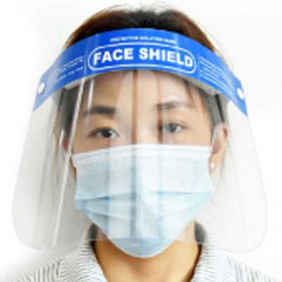 Logo Brand Adult Face Shield