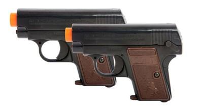 Soft Air USA Colt 25 6mm Caliber Spring Airsoft Pistol 2-Pack