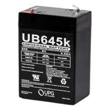 UPG 6 Volt/4.5 Amp Universal Battery