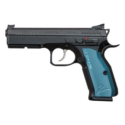 CZ Shadow 2 Black and Blue 9mm Luger Handgun