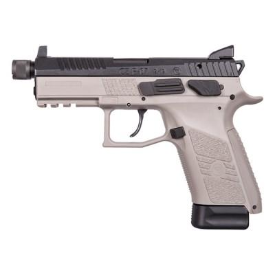 CZ P-07 Urban Grey Suppressor Ready 9mm Luger Handgun