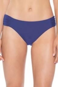 Women's Becca Color Code American Shirred Tab Hipster Bikini Bottom