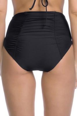 Women's Becca Color Code Shirred High Waist Bikini Bottom