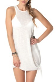 Women's Becca High Neck Tank Swim Dress Cover Up