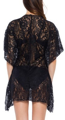 Women's Becca Lace Cover Swim Tunic Cover Up