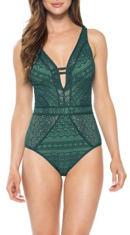 Women's Becca Color Play One Piece Swimsuit